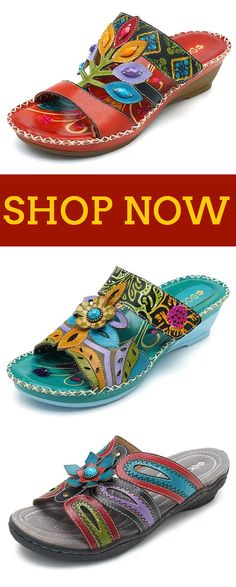 UP TO 59% OFF! SOCOFY Bohemian Style Leather Sandals&Vintage Shoes. SHOP NOW!