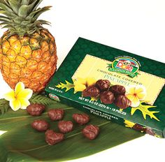 Chocolate covered pineapple