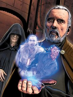 Lord Wanjavi -  I'm not one for the prequels, but this art is emotionally hurtful when you know all the Master/padawan relations here.