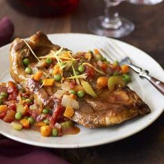 Veal Shoulder Chops, Osso Buco Style. #recipe #lowcal