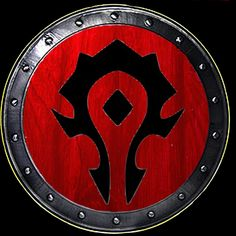 World Of Warcraft Horde Logo Horde symbol wow horde symbol