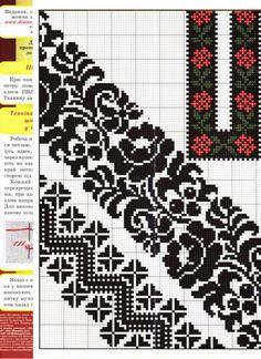 Рукав Cross Stitch Bird, Cross Stitch Borders, Cross Stitch Designs, Cross Stitching, Cross Stitch Patterns, Hungarian Embroidery, Folk Embroidery, Cross Stitch Embroidery, Embroidery Patterns