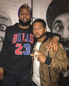 My Nigga @obj Fell Thru Tha Studio Last Night . #WEJUSTLIVING #IMJUSTLIVING