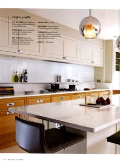Bespoke kitchen from Martin Moore featuring their Architectural range http://martinmoore.com Beautiful Kitchens February 2014