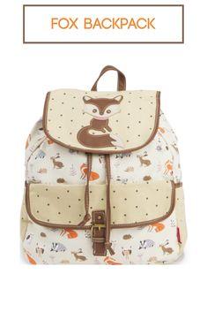 Tan Fox Backpack