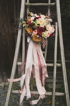 32 of the Most Stunning Fall Bridal Bouquets You've Ever Laid Eyes On - Mon Cheri Bridals