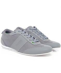 b34bbda1c8e356 Hugo Boss Green Light Air Trainers Hugo Boss Shoes, Zara Sneakers, Sneakers  Fashion,