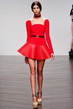 Lovely in Red David Koma