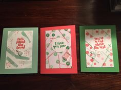 Stampin' Up Love you Sew