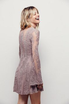 Your favorite dress is back // Free People Reign Over Me Lace Dress at Free People Clothing Boutique