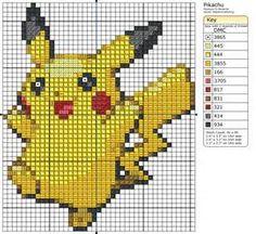 pokemon a punto de cruz - Bing images