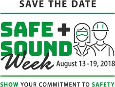 Safe+Sound Week is here! Safe + Sound Week raises awareness of the importance of safety programs. To participate, host a safety meeting or other event at your workplace. Safety Meeting, Workplace, Ladder, Stairway, Ladders