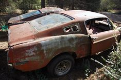 67' Mustang fastback looks great. Just needs some TLC.