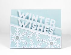 Winter Wishes - Free SVG Cut File |