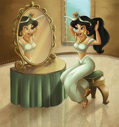 Jasmine's Vanity by DisneyJAM on DeviantArt
