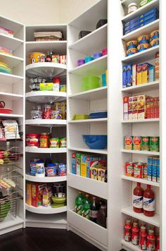 Lazy Susans |12 Ingenious Kitchen Pantry Organization Projects You Should Try This Winter