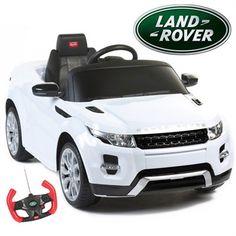 Rastar Range Rover Evoque 12v White