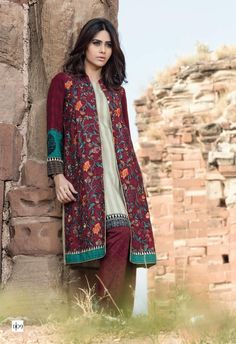 Maria B Exclusive Linen Collection For Winter 2015-16