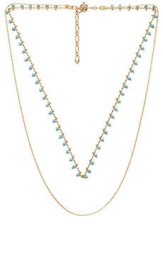 Shop for Five and Two Clementine Necklace in Gold & Blue at REVOLVE. Free 2-3 day shipping and returns, 30 day price match guarantee.