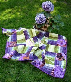 Image detail for -... Jewels Quilt - Kaffe Fasset/Amy Butler Designer Fabric Lap Quilt