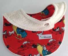 Bib ORGANIC Cotton Terry Goodnight Moon Hush in by WeeWhimsicals