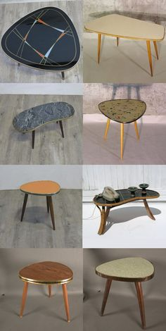 Mesas años 50, Rock a Billy tables, Blumentiche