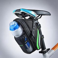 bag packaging Picture - More Detailed Picture about 2017 Hot RockBros Bicycle Bag Quick Install MTB Mountain Road Bike Bag Water Bottle Pouch Design Cycling Rear Seat Saddle Bag Picture in Bicycle Bags & Panniers from Sireck Outdoor CO. Bike Seat Bag, Bike Saddle Bags, Bicycle Bag, Bike Mtb, Road Bike, Cycling Gear, Cycling Equipment, Cycling Jerseys, Bicycle Accessories