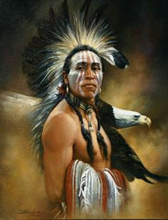 'Eagle Vision                                                                                                                                                      More Native American Paintings, Native American Pictures, Native American Beauty, Indian Pictures, American Indian Art, Native American History, American Indians, American Artists, Indian Paintings