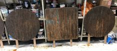 Fake rust effect paint on any surface, wood, metal and plastics. Rust, Tables, Painting, Furniture, Home, Mesas, Painting Art, Ad Home, Paintings