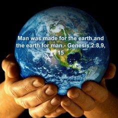 Image result for one planet (earth) under God our Creator