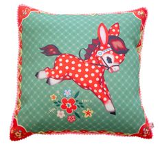 Polka Pony cushion by Wu & Wu - $40