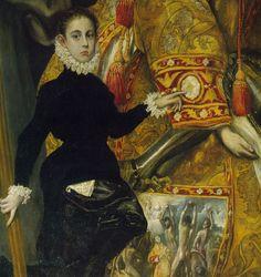 """El Greco, """"El entierro del Conde de Orgaz""""."""