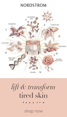 Lift and transform tired skin in an instant. Charlotte's Magic Cream contains Charlotte Tilbury's secret mix of patented anti-aging, hydrating and youth-promoting ingredients for a glowing complexion in a flash. Shop beauty at Nordstrom. Beauty Skin, Beauty Makeup, Health And Beauty, Beauty Secrets, Beauty Hacks, Beauty Tips, Anti Aging Eye Cream, Body Hacks, Tips Belleza