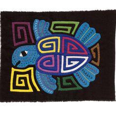 Classic Very Colorful Sea Turtle Mola/Molita by molamama