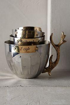 Nordic Elk Measuring Cups - anthropologie.com  Christmas is coming people!!!!