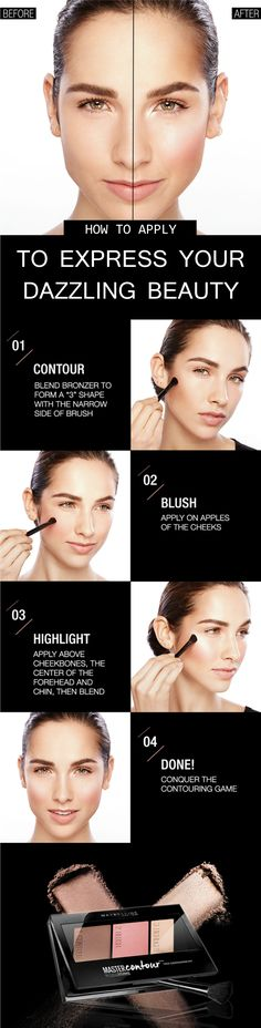 Blush is an essential makeup item to express the beauty of your pretty  face. It can be little bit challenging but you can make it perfect by following  the tutorial. Use the right application formula and apply in the areas that  complement your facial structure. Choose the color and texture that work  greatly to make your blush look gorgeous. Check out more by clicking here.  #DazzlingBeauty #makeupbeauty #howtoapplyblush