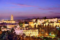 Bellísima vista del centro de Málaga  By Spain.info
