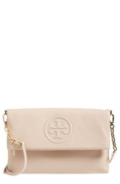 Tory Burch 'Bombe' Foldover Clutch available at #Nordstrom