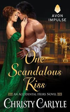 One Scandalous Kiss by Christy Carlyle: Nice Georgian romance with suffragettes, book lovers, poor viscount and a lot of love. Easy to read and entertaining.  Romance ambientato alla fine del 1800 con sufragette, libraie, visconti poveri e tanto amore. Facile da leggere e divertente.