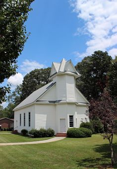 First Presbyterian Church in Canon, Franklin County, GA.