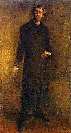 Whistler. Self Portrait: 1895-1900