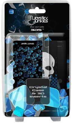 Joystick Junkies Crystal Case Plus 2 Lenticular Prints - Black (Nintendo 3DS) by Exspect,  http://amzn.to/12Ts9tI