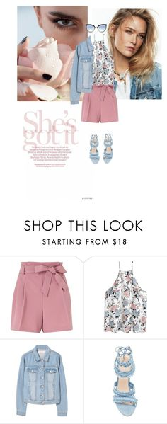 """""""Fresh flares"""" by shailja787 ❤ liked on Polyvore featuring Miss Selfridge, H&M, MANGO and Karl Lagerfeld"""