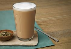 Anise-flavoured Caffè Latte | Smooth, sweet and subtly floral, this alluring latte will delight your palate and enliven your senses.