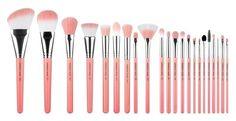Bdellium Tools Pink Bambu Deluxe 22pc. Brush Set | PĘDZLE \ Bdellium Tools PĘDZLE \ BDELLIUM TOOLS | Minti Shop
