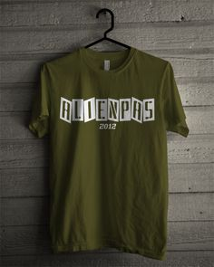T-shirt Alienpas #5 (Army Green)