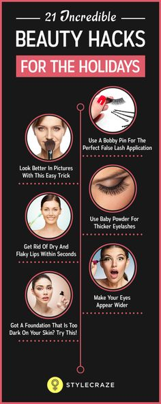 The holiday season is right here, and by now, your social calendar might be filled with a number of family get-togethers, parties, and outings. Are you ready to be the life of the party? If you are worried about makeup flaws, fret not – we've come up with some hacks that will make sure your makeup lasts all day long.