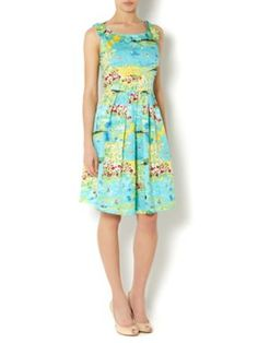 Dickins & Jones Ladies seaside print dress Multi-Coloured - House of Fraser