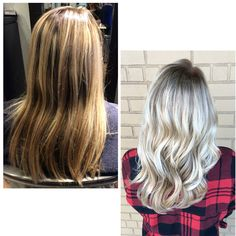Before - After Base Extend & Balayage - Melissa Lusby