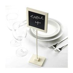 Meseros / números de mesa